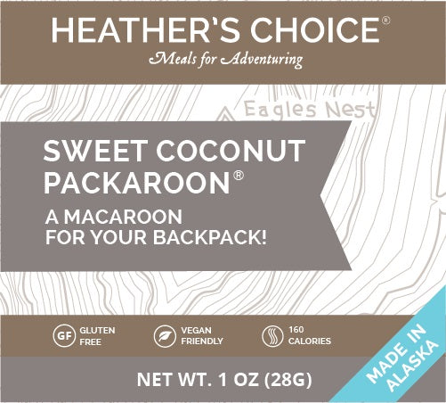 Heather's Choice Packaroons - Sweet Coconut - 1 Shot Gear