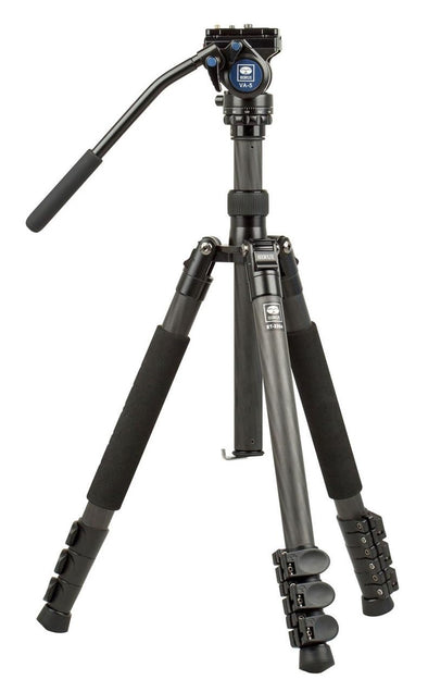SIRUI ET-2204 Carbon Fiber Tripod with VA-5 Ball Head - 1 Shot Gear