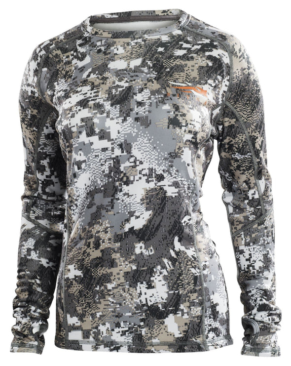Sitka Gear Women's CORE Midweight Crew - LS (2019) - 1 Shot Gear