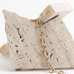 Lima small chain bracelet gold