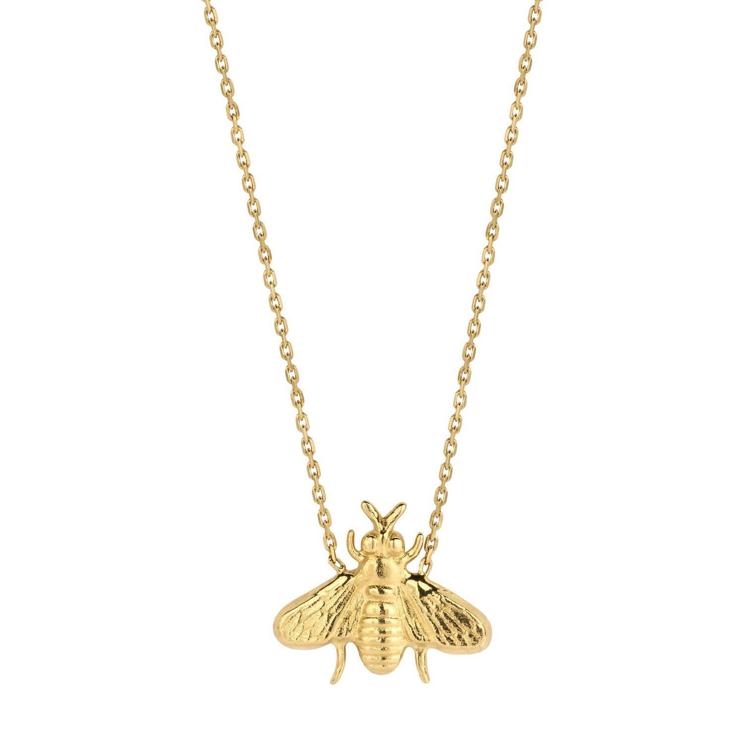 Bee necklace gold - Souvenirs de Pomme