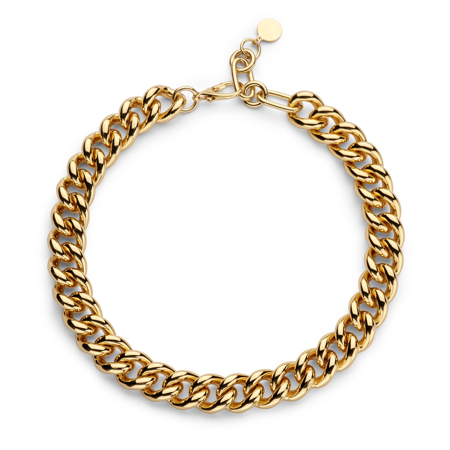 Gourmet small chain necklace gold - Souvenirs de Pomme