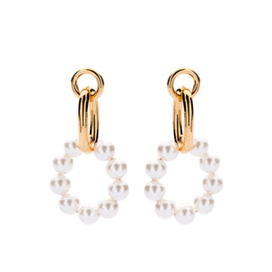 Evi pearl earrings