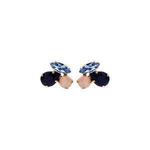Cleo shortie blue mix earrings