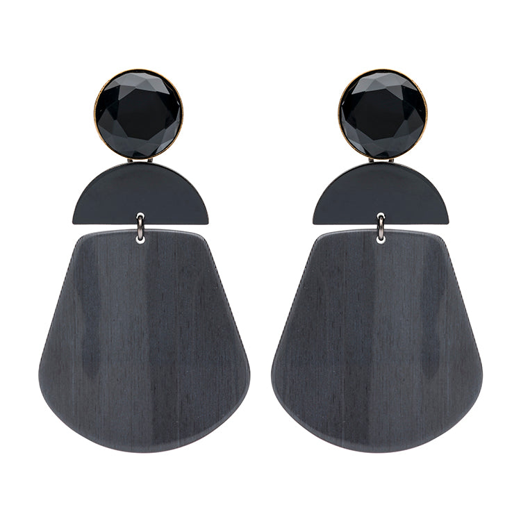 Alexa black earring