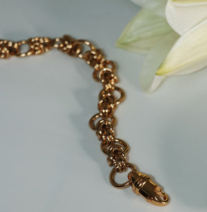 Nicole chain gold necklace