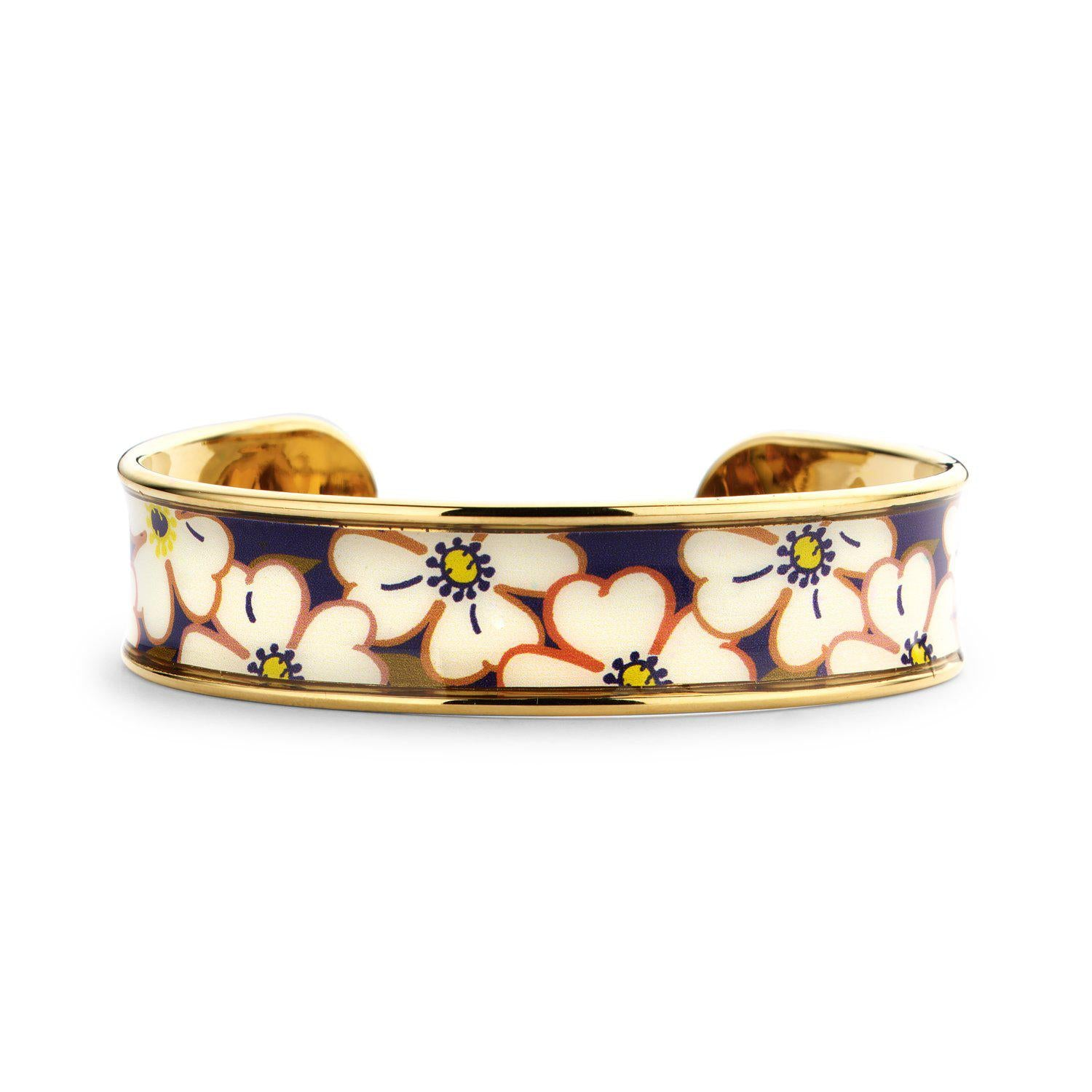 Memory Cuff bloom blue/red-Armbanden-Souvenirs de Pomme