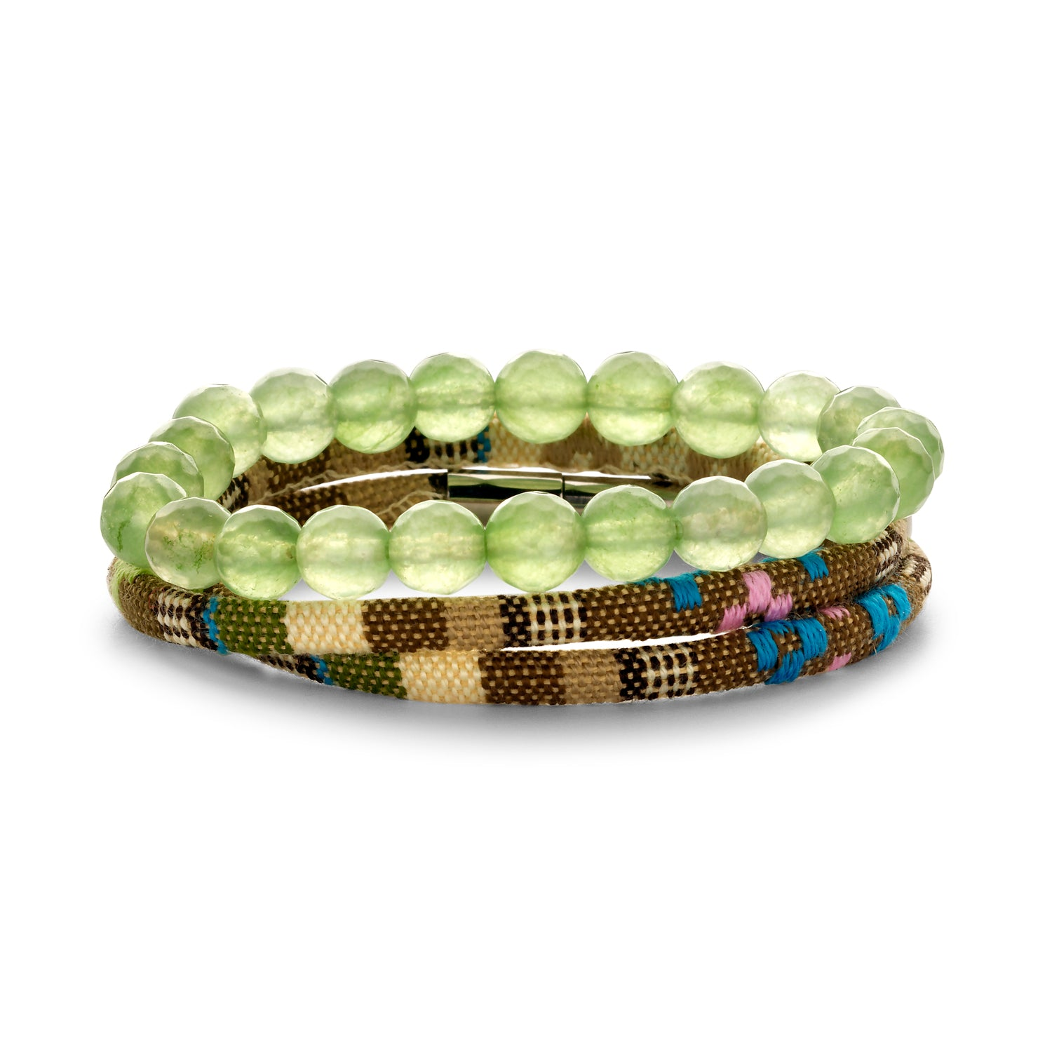 Set Peru Friendship bracelet lime