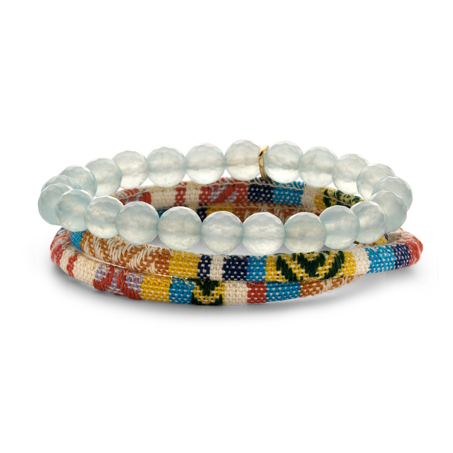 Set Peru Friendship bracelet sky