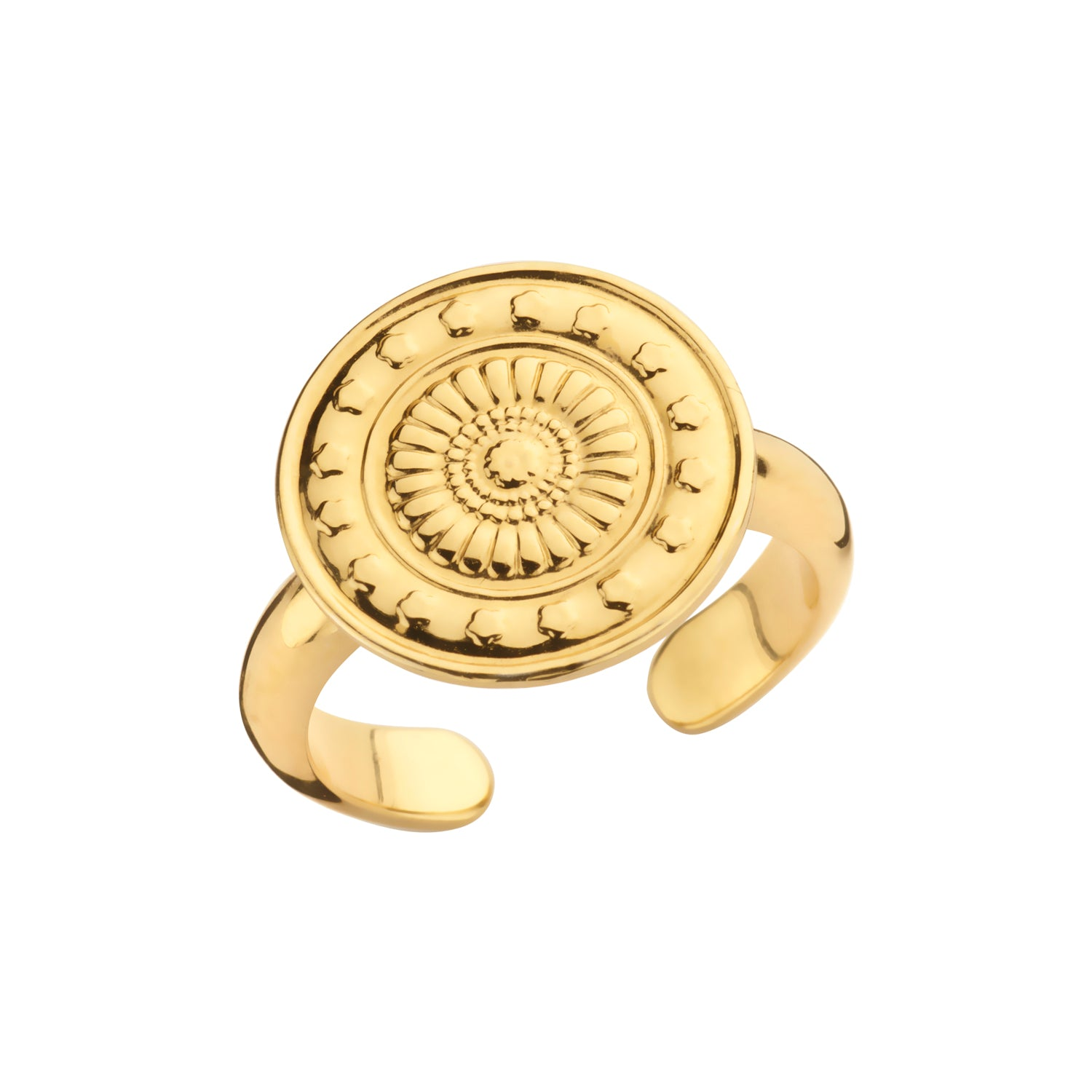 Ring Peru coin gold