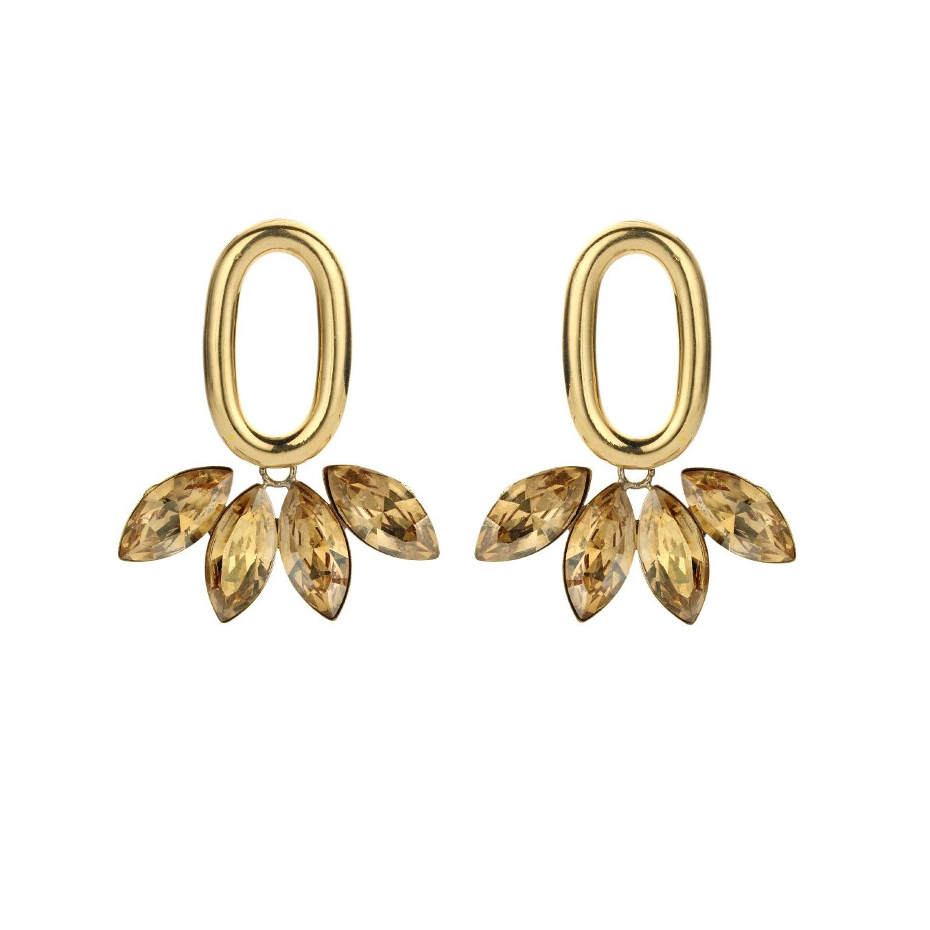 PRE-ORDER Pippa gold earrings - Souvenirs de Pomme