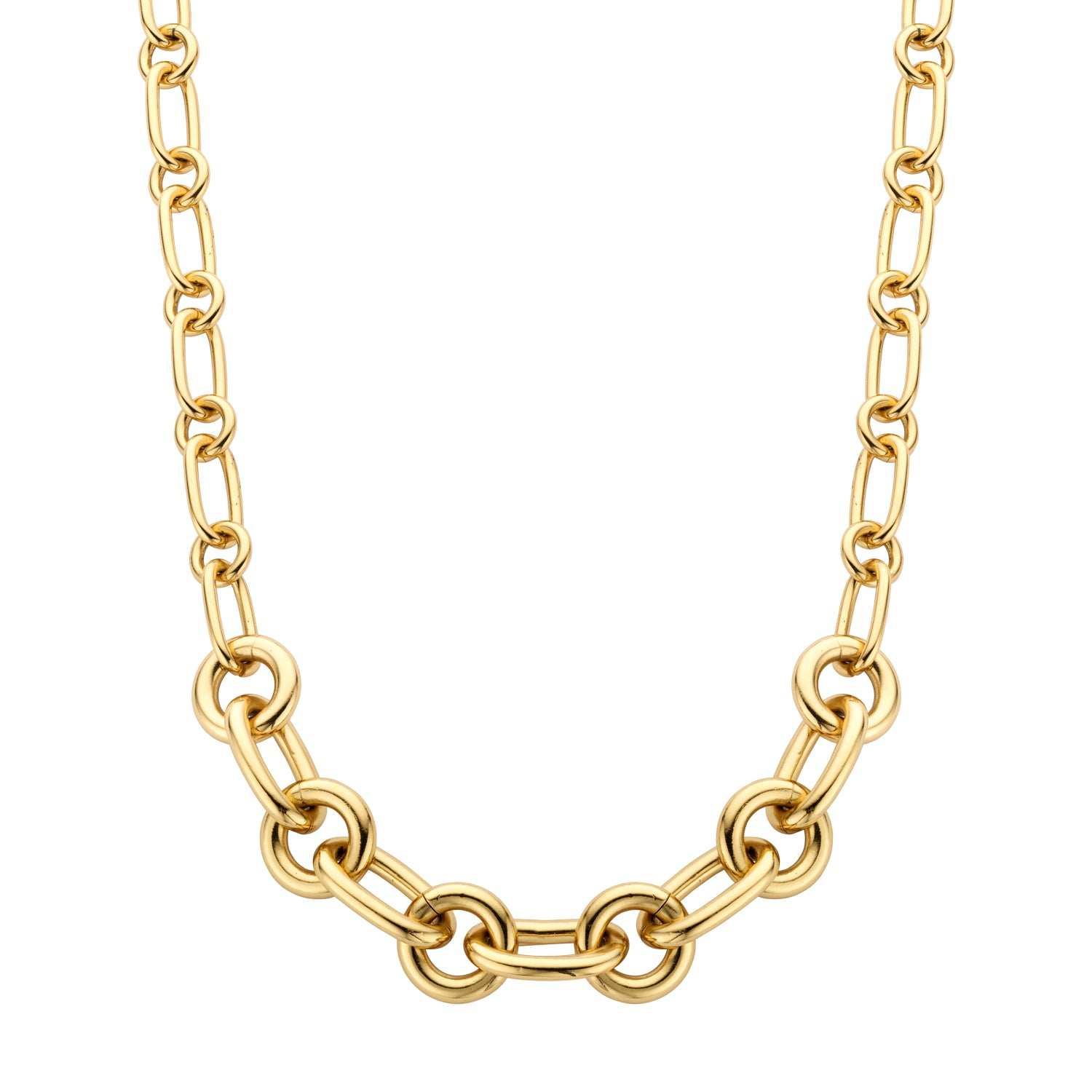 Lima medium necklace gold - Souvenirs de Pomme
