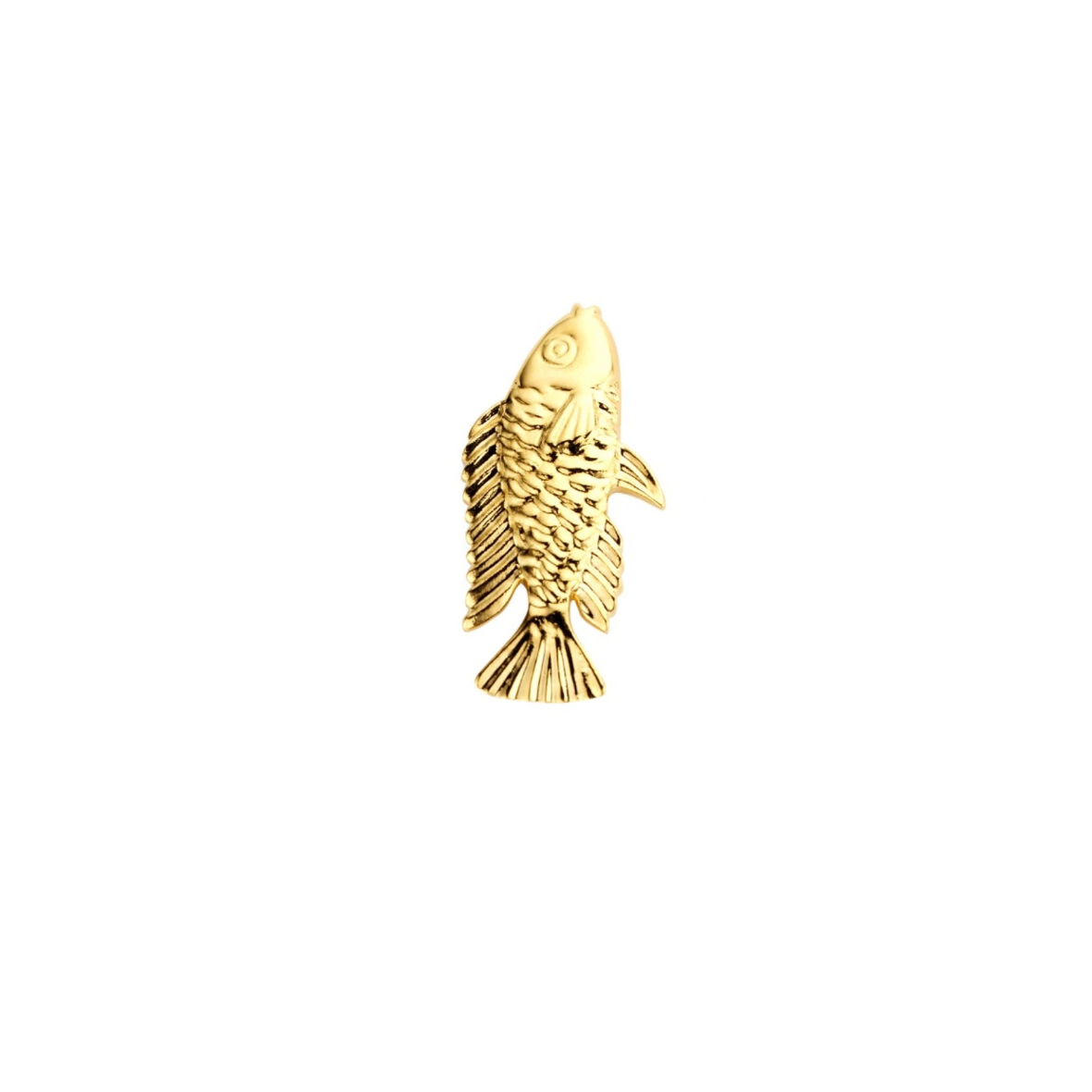 SINGLE Nemo shortie gold earring