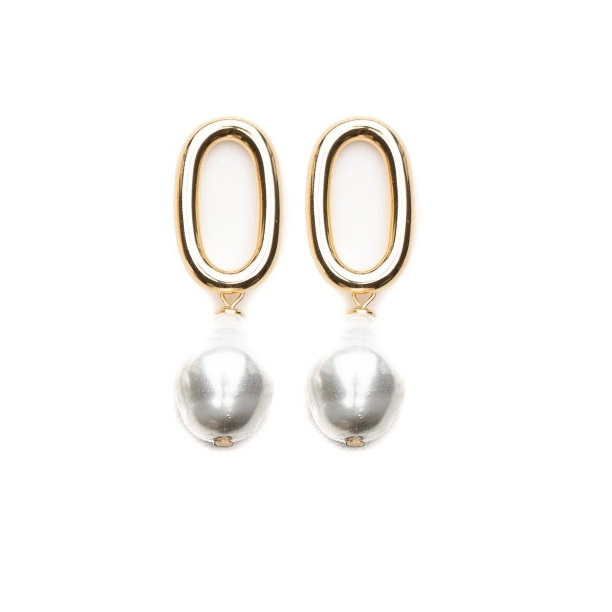Pippa baroque pearl earrings