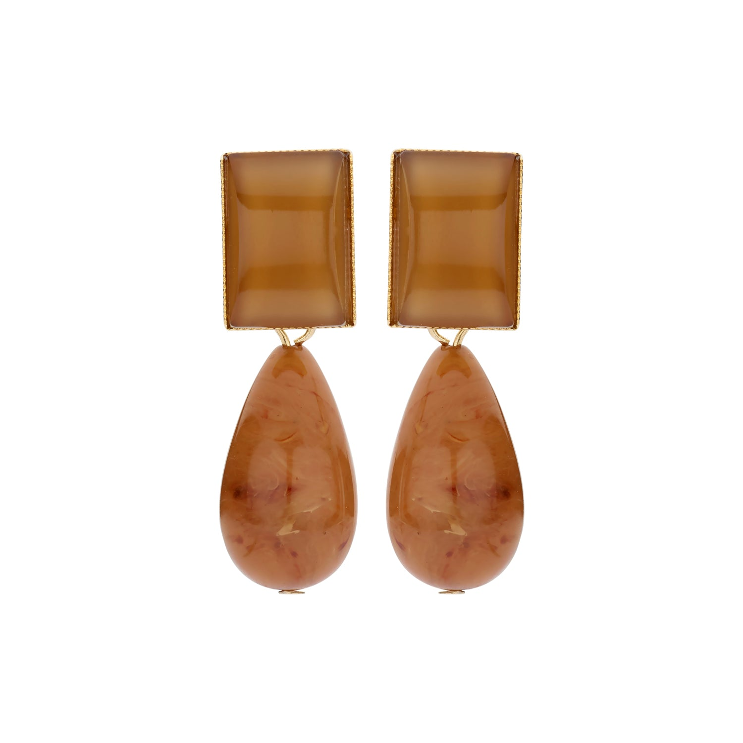 New Playa camel earrings - Souvenirs de Pomme