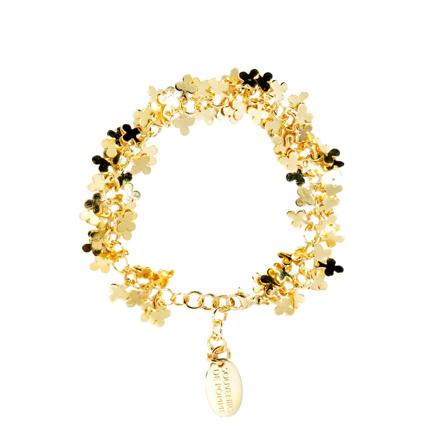 Chain Clubs gold bracelet