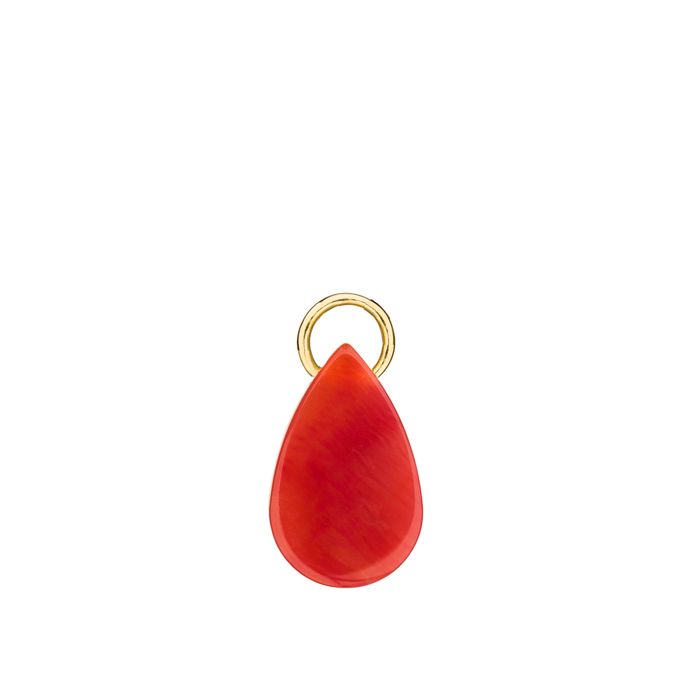 Drop charm red