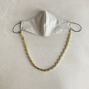 SET Face mask with statement chain