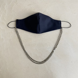 SET Face mask with fine chains