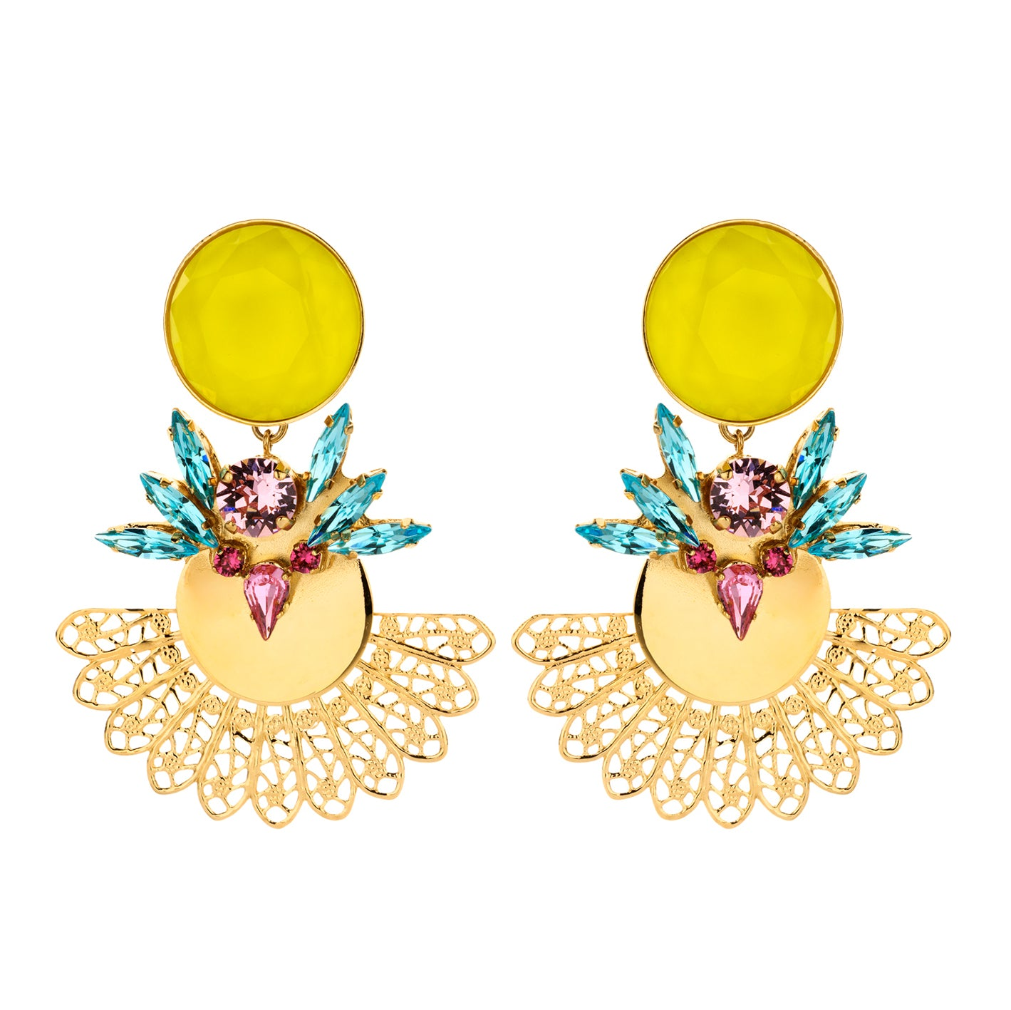 Roberta statement earring multicolour