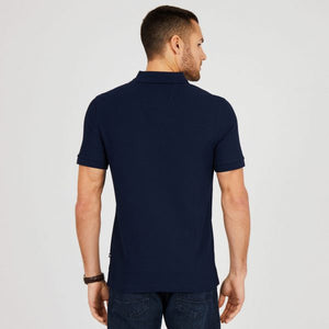 NAUTICA SHORT SLEEVE Navy SLIM FIT PERFORMANCE DECK POLO