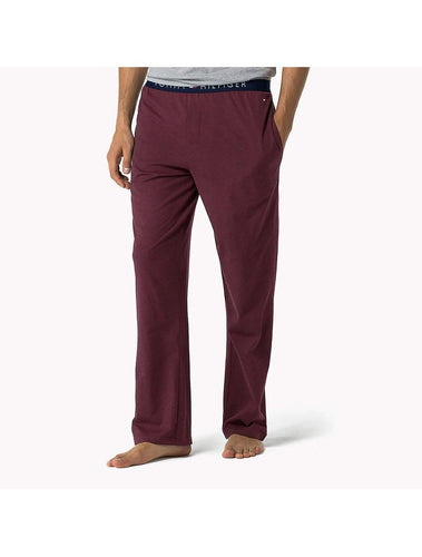 TOMMY HILFIGER - Burgundy Icon Lounge Pants