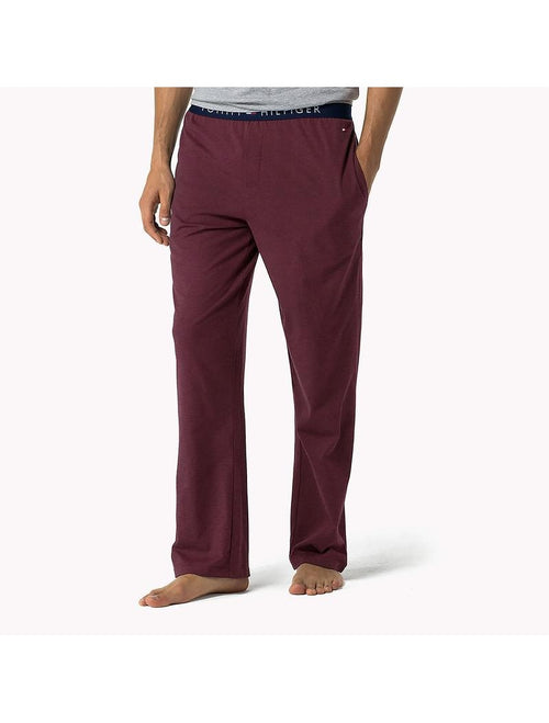 TMY HIL - Burgundy Icon Lounge Pants