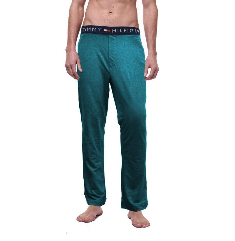 TOMMY HILFIGER - Turquoise Icon Lounge Pants
