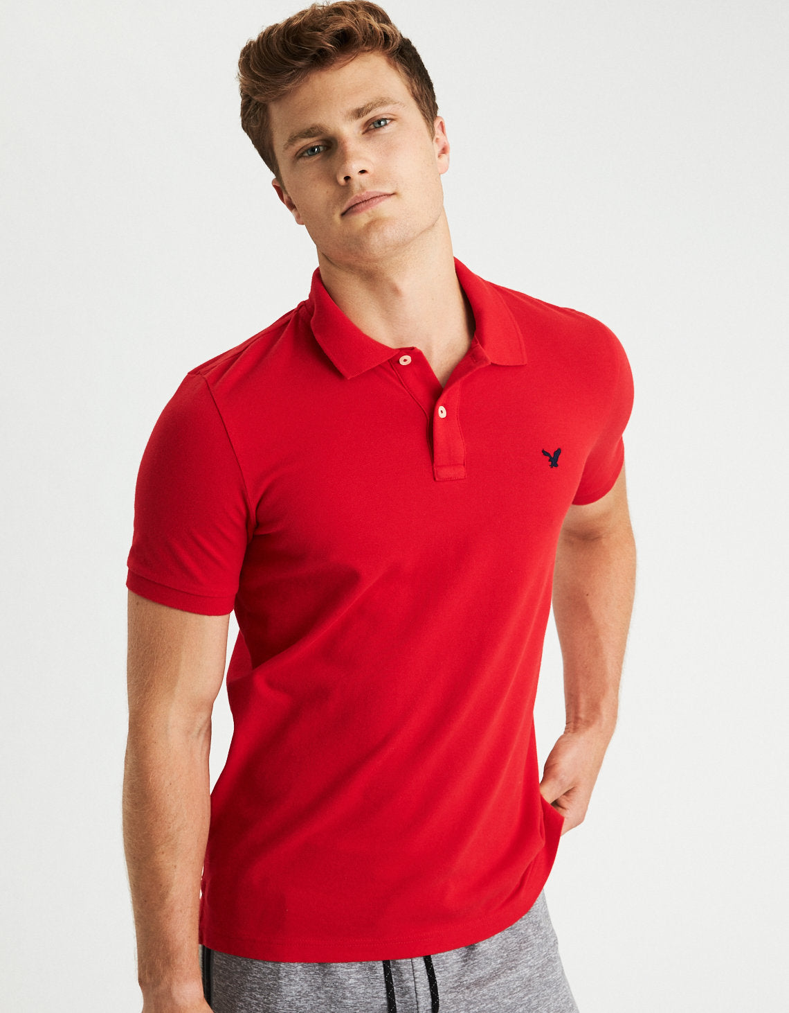 AE  - Stretch Pique Polo