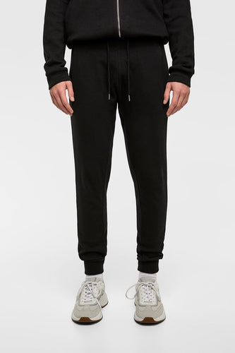 ZR - BLack Pique Jogging Trouser for Men
