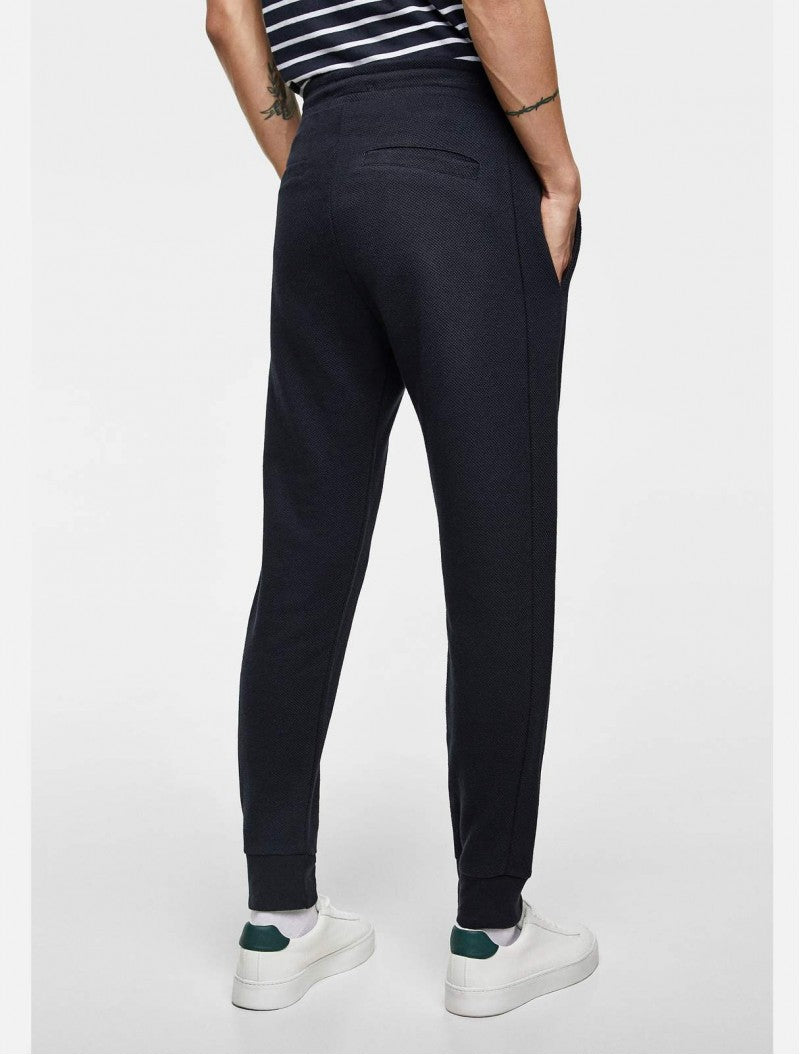 ZARA - Navy Basic Jogging Trouser for Men