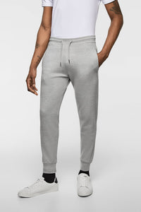 ZR - Grey Pique Jogging Trouser for Men