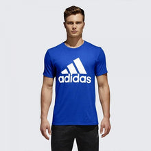 Load image into Gallery viewer, ADIDAS Badge of sport Blue T shirt