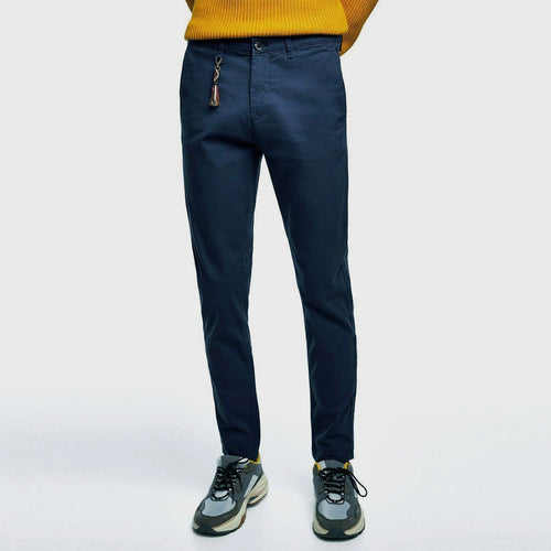 ZR - Cotton Stretch 'skinny fit' Chino (Navy Blue)