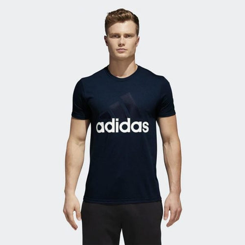 ADIDAS Badge of sport Navy T shirt