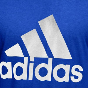 ADIDAS Badge of sport Blue T shirt