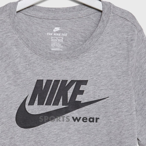 NIKE- logo crew neck GREY T-Shirt