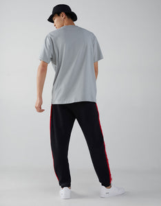BSK - Men Jogger Trouser with Red Stripes