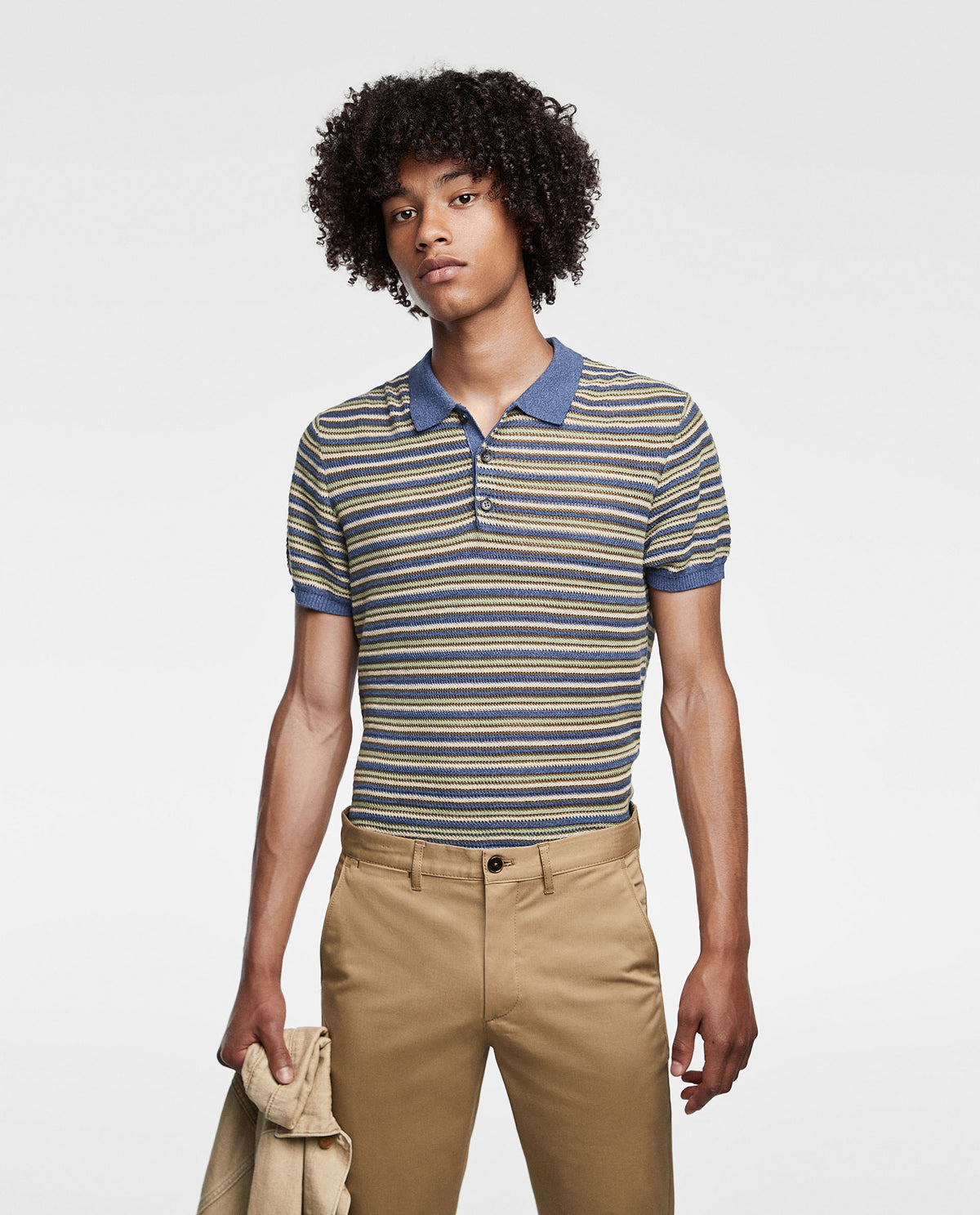ZARA - Cotton Chino 'skinny fit' Basic Collection (Camel)