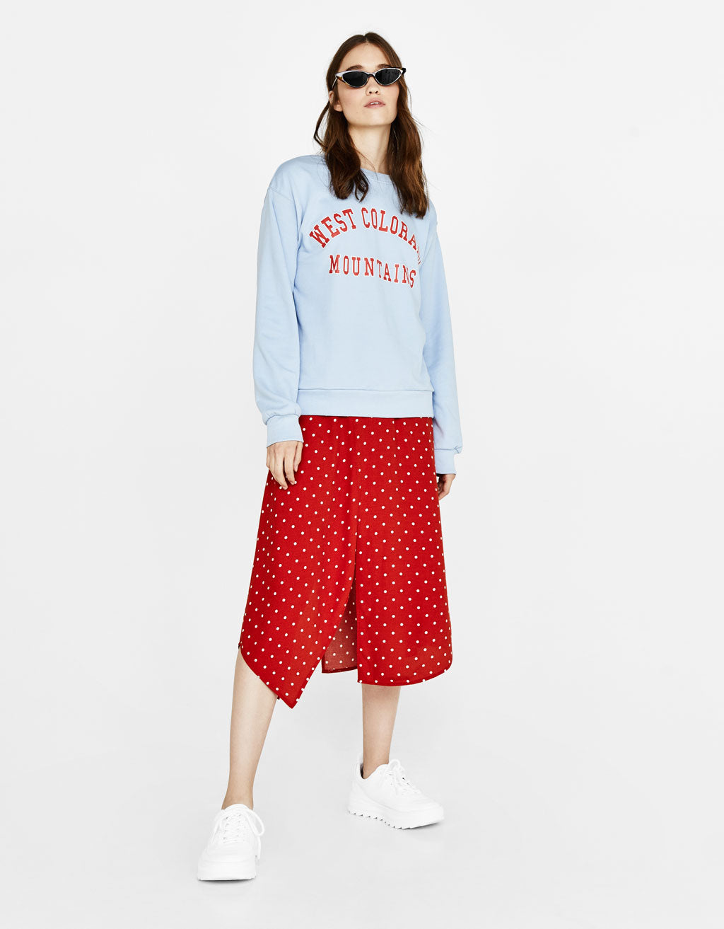 BSK Light Blue Sweatshirt