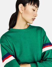 Load image into Gallery viewer, BSK - Green Crew neck Sweatshirt
