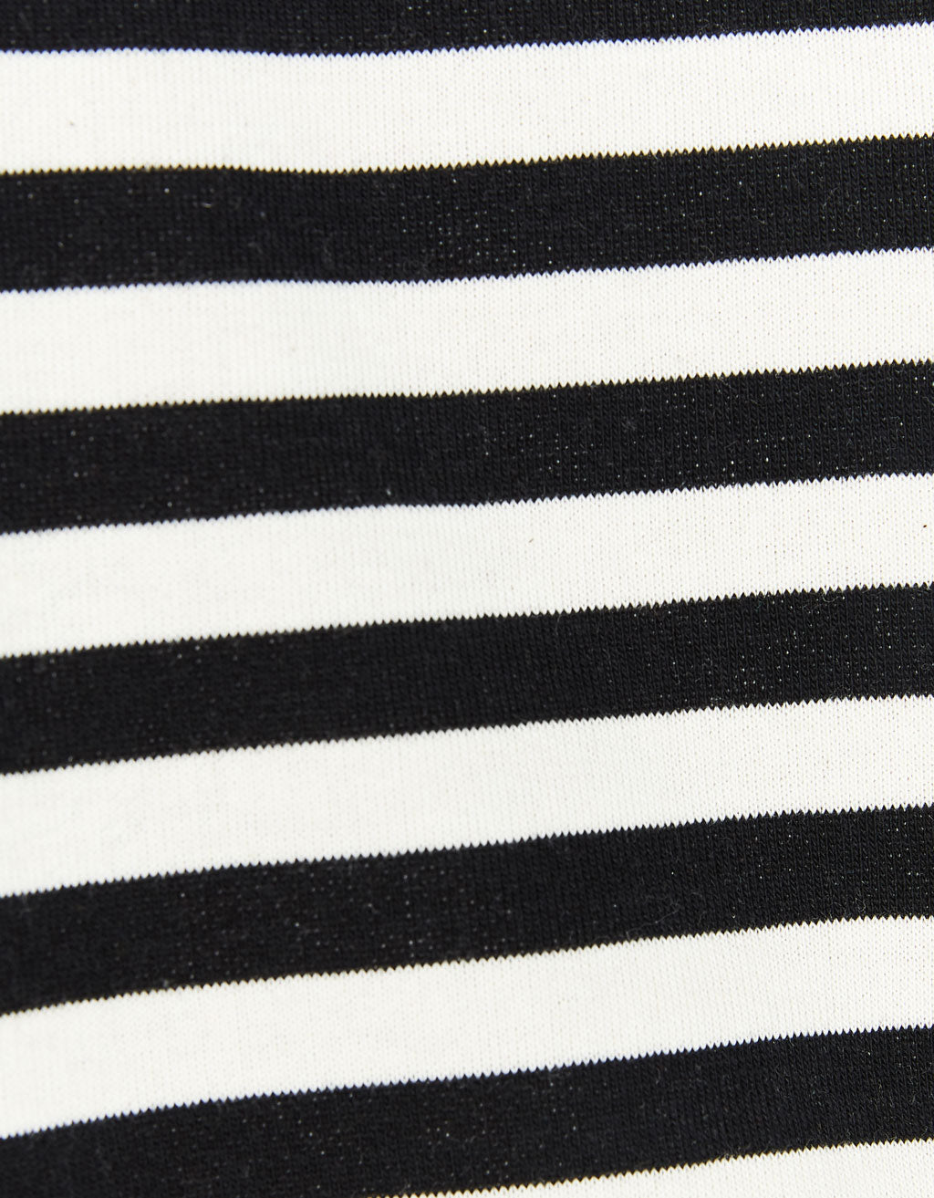 BERSHKA Striped Crew neck Sweatshirt