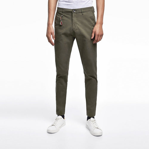 ZR - Cotton Stretch 'skinny fit' Olive Chino
