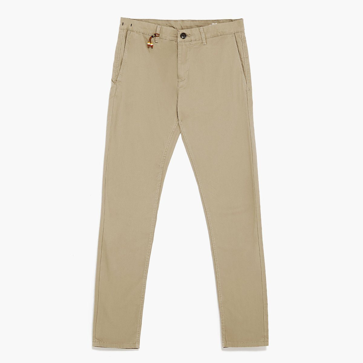 ZR - Stretch Mink cotton 'skinny fit' chino