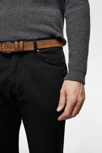 ZR - COTTON STRETCH 'SLIM FIT' CHINO (BLACK)