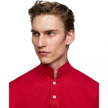 Load image into Gallery viewer, ZR – RED MARL BASIC POLO SHIRT