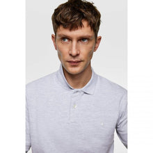 Load image into Gallery viewer, ZR – GREY MARL BASIC POLO SHIRT