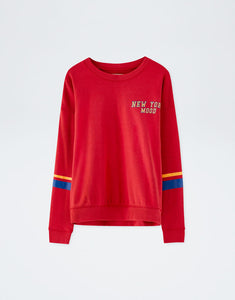 P N B Text sweatshirt