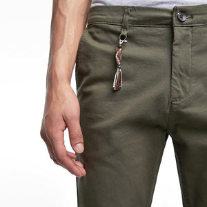 ZARA - Cotton Stretch 'skinny fit' Olive Chino