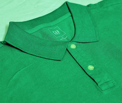 GAP - Short Sleeve Pique Green Polo